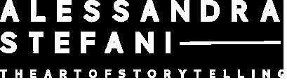 white-alessandra-stefani-logo